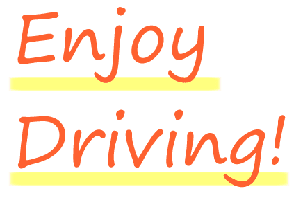 Enjoy Driving!